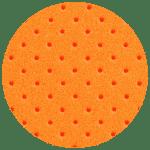 Perforated Orange